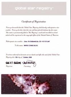 MARIO-CONDE-star-certificate
