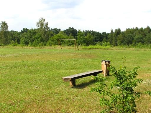 wild soccer field